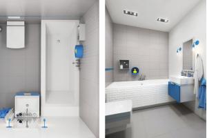 Melby / Elbo интерьер плитка для ванной