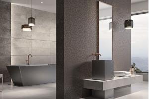 Shiny Lines интерьер плитка для ванной
